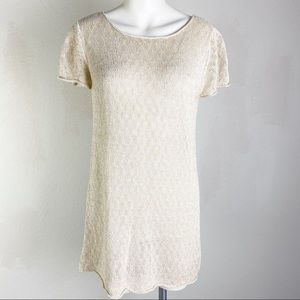 Eileen Fisher Linen Tunic Shirt Size Small